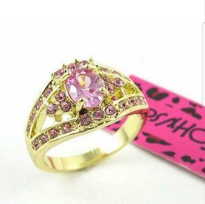 Betsey Johnson Ring Size 9